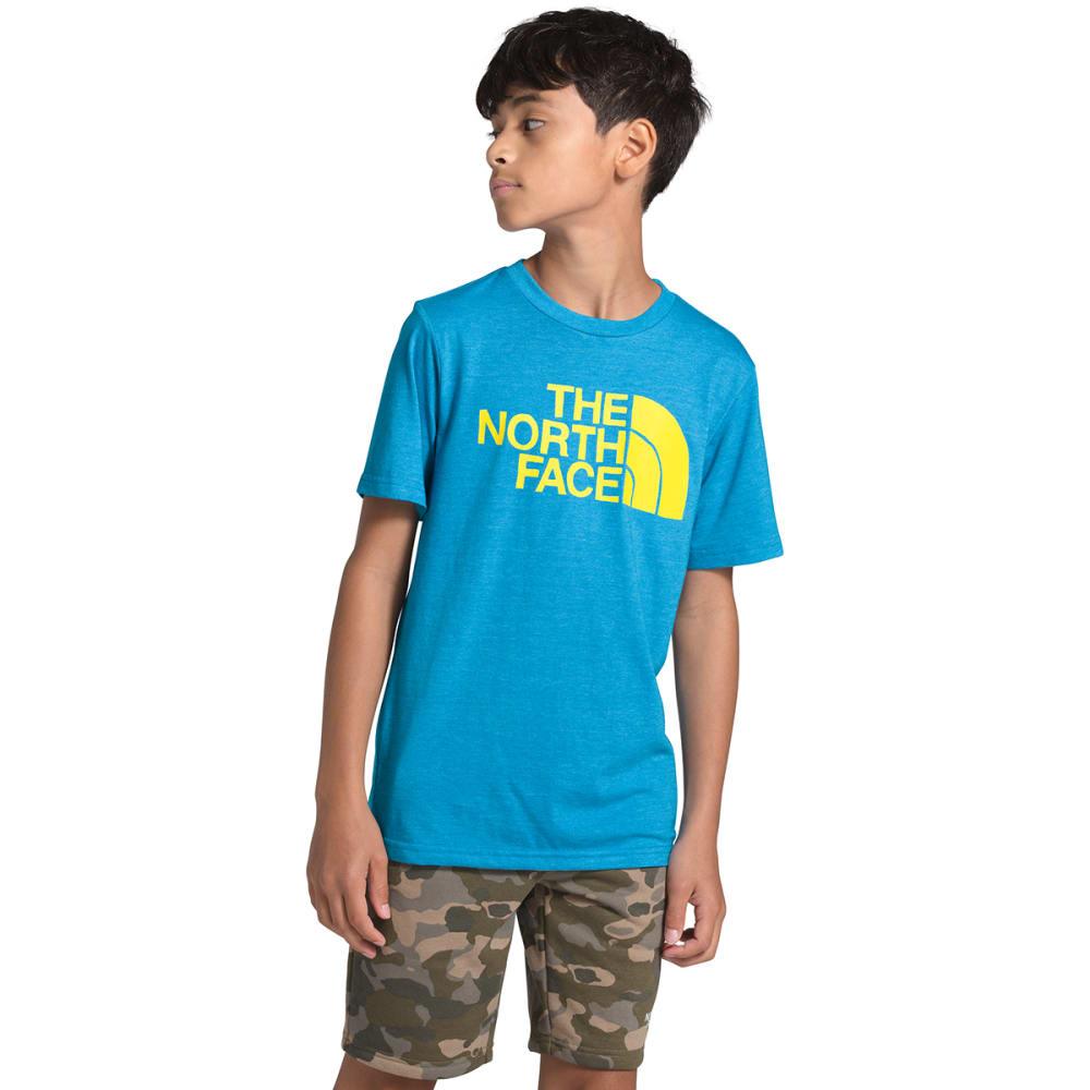 THE NORTH FACE Boys' Tri-Blend Short-Sleeve Tee L