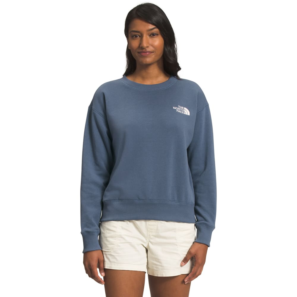 THE NORTH FACE Women's Parks Slightly Cropped Crew S