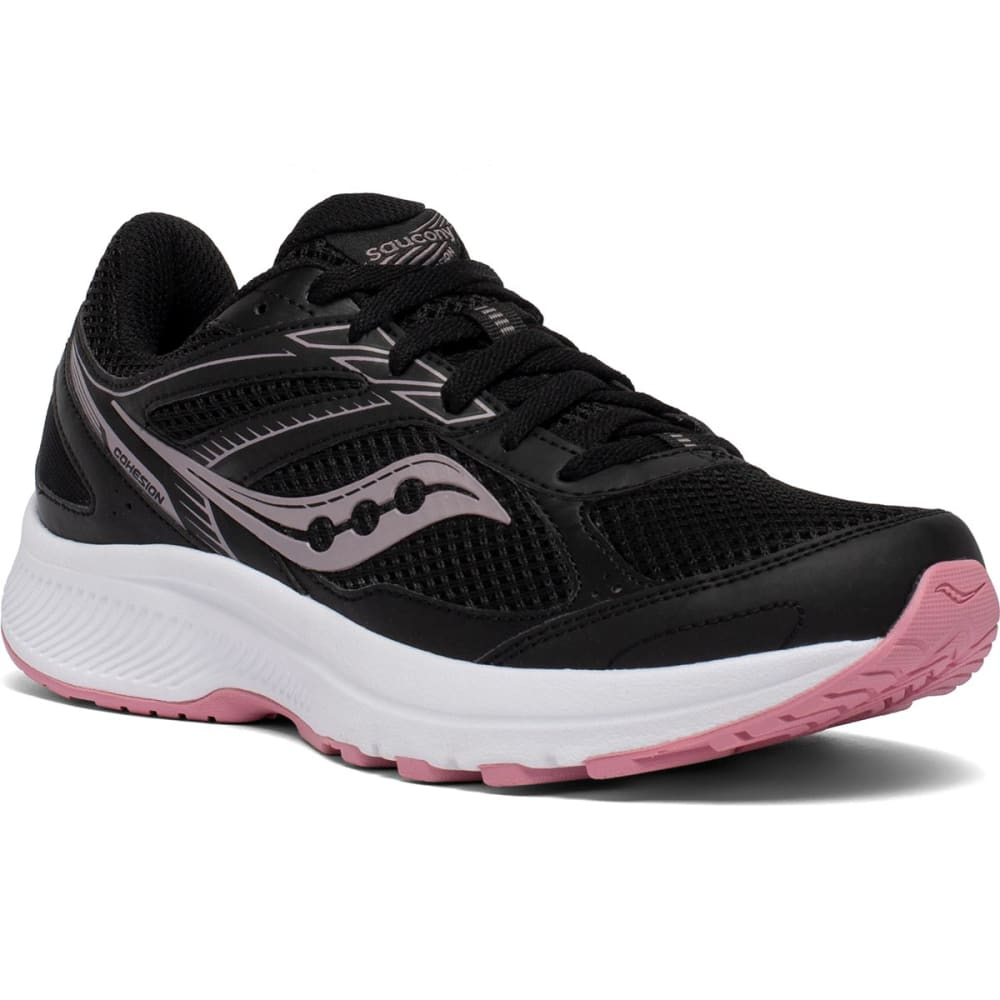 SAUCONY Women's Cohesion 14 Running Shoe, Wide Width 6