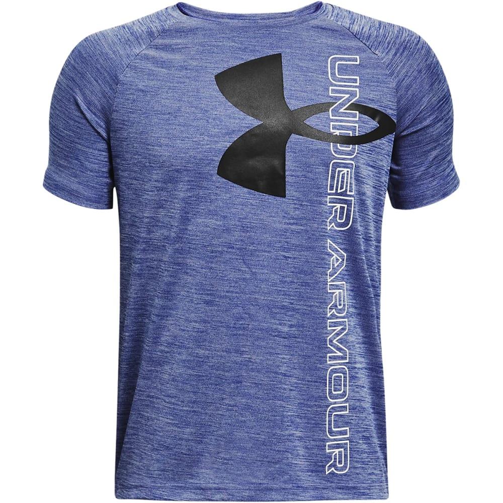 UNDER ARMOUR Boys' UA Tech Hybrid Short Sleeve Tee S