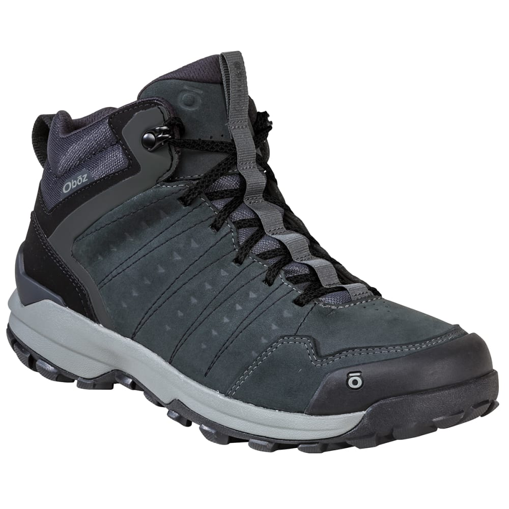 OBOZ Men's Sypes Mid Leather B-DRY Hiking Boot 9