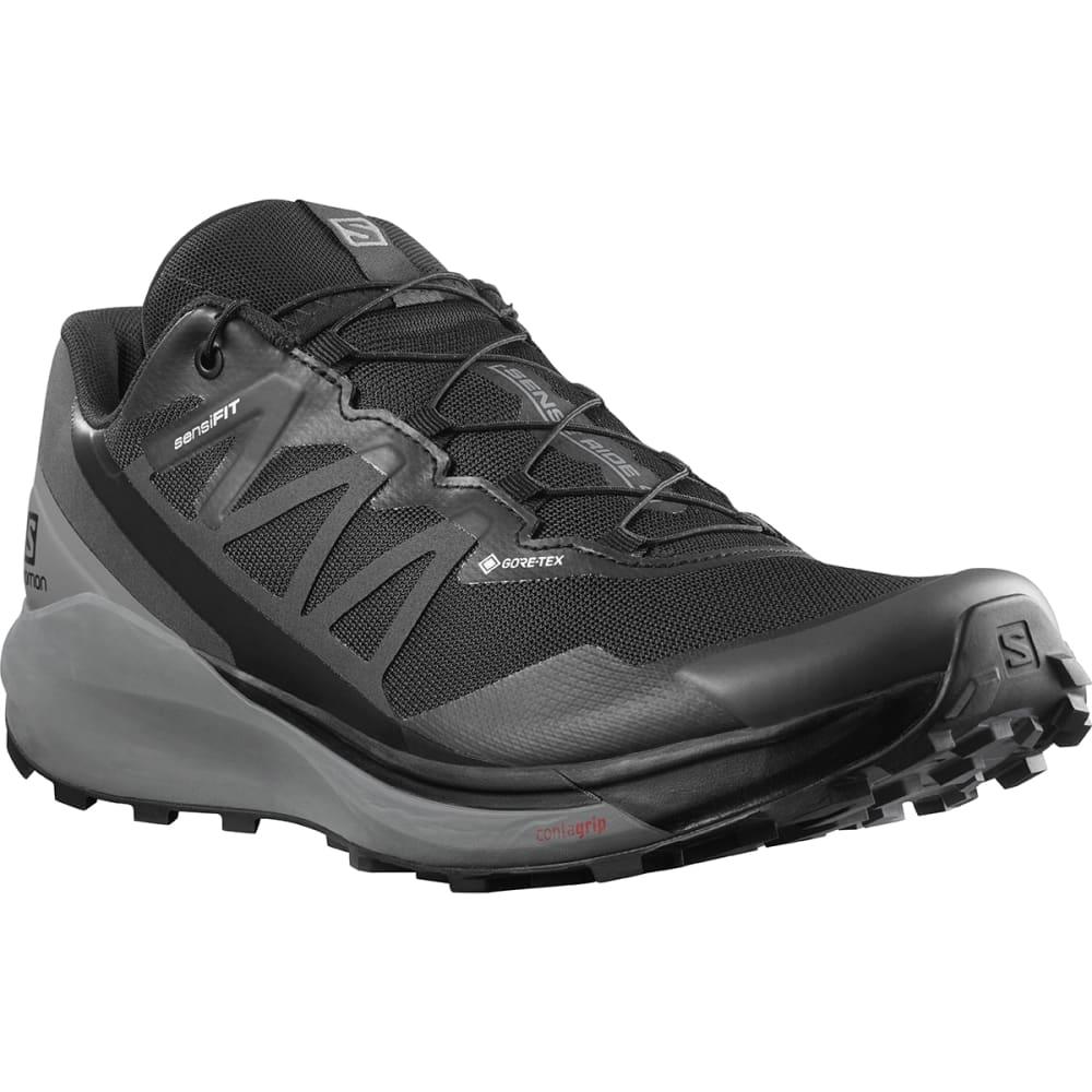 SALOMON Men's Sense Ride 4 Invisible Fit GTX Trail Running Shoe 9