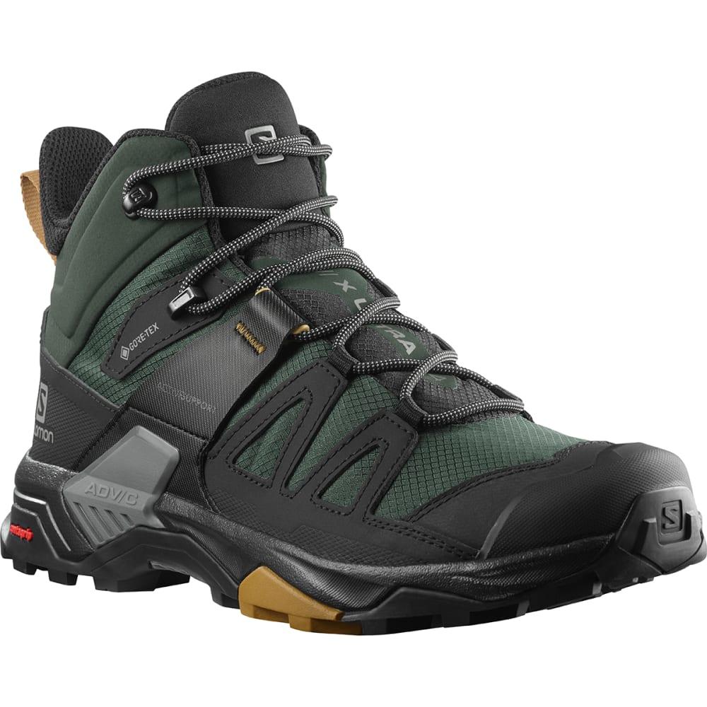 SALOMON Men's X Ultra 4 Mid GTX Hiking Shoes 9