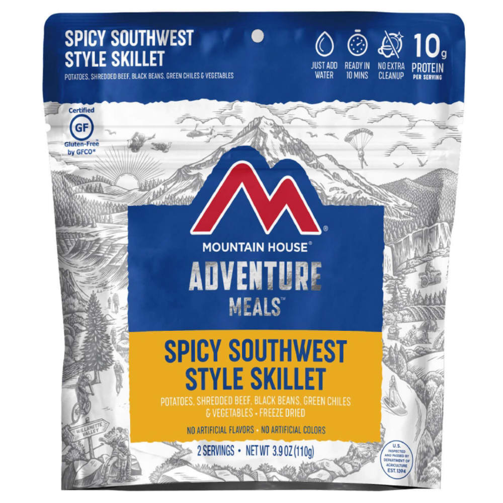 MOUNTAIN HOUSE Spicy Southwest Style Skillet Freeze-Dried Meal NO SIZE