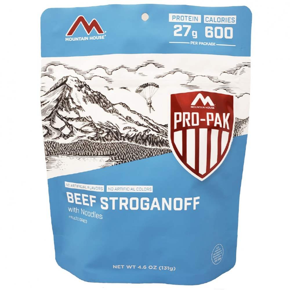 MOUNTAIN HOUSE ProPak Beef Stroganoff Freeze-Dried Meal NO SIZE