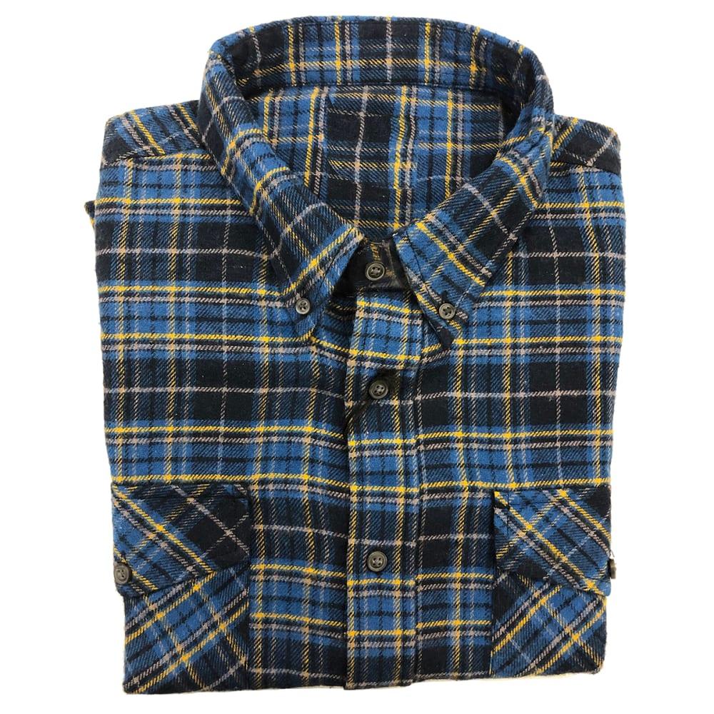ARCHITECT JEAN CO Men's Plaid Flannel S