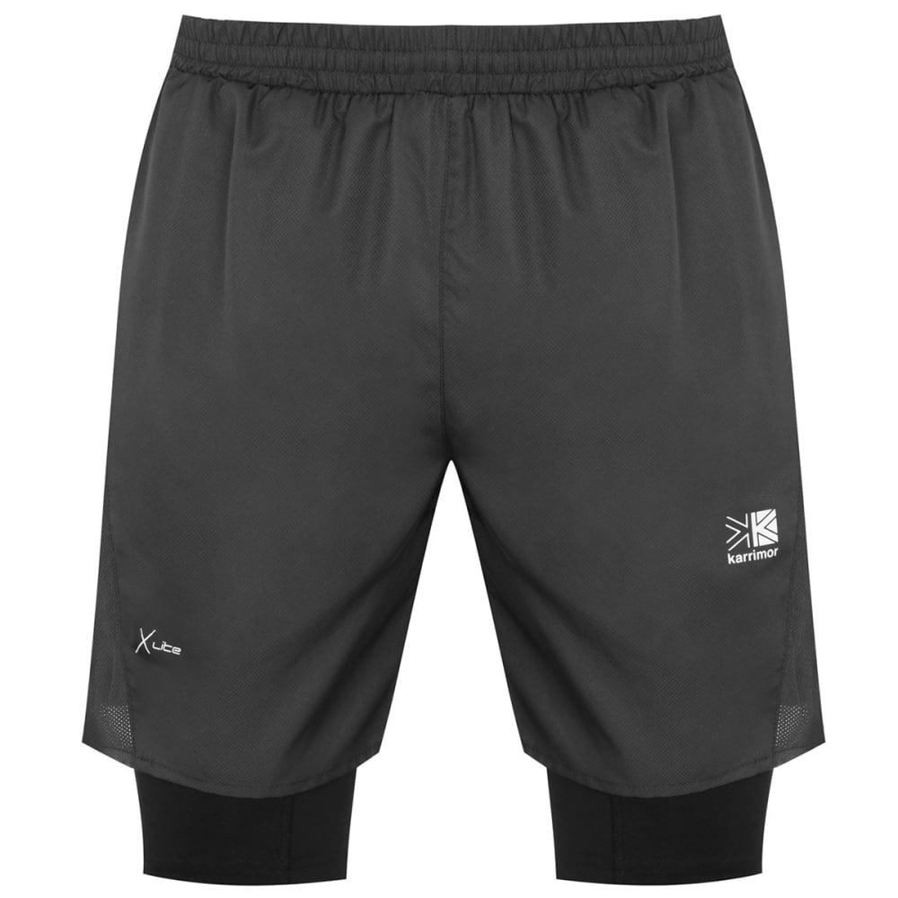 KARRIMOR Men's XLite 2-In-1 Performance Shorts XL