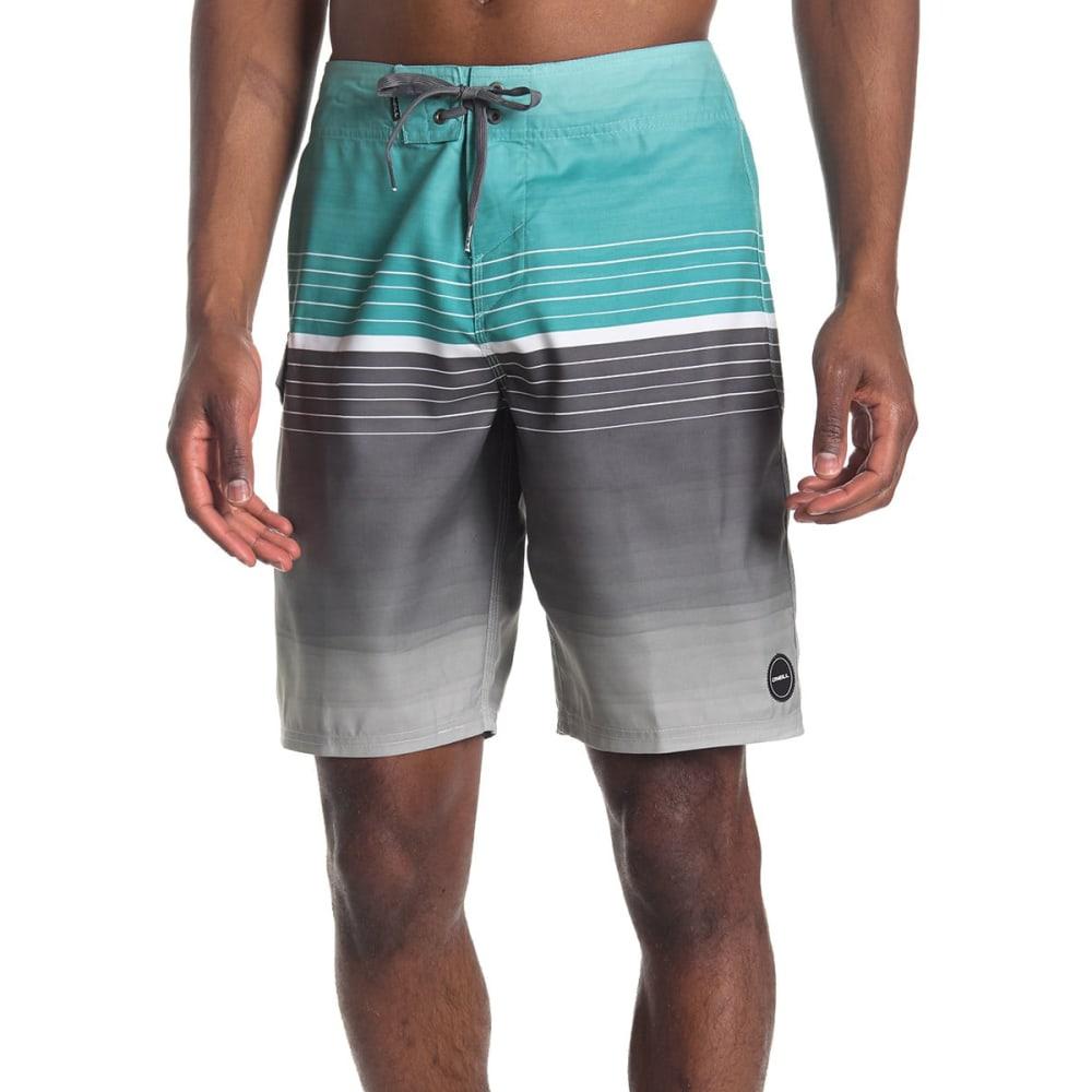 O'NEILL Men's High Tide Stripe Boardshorts 30