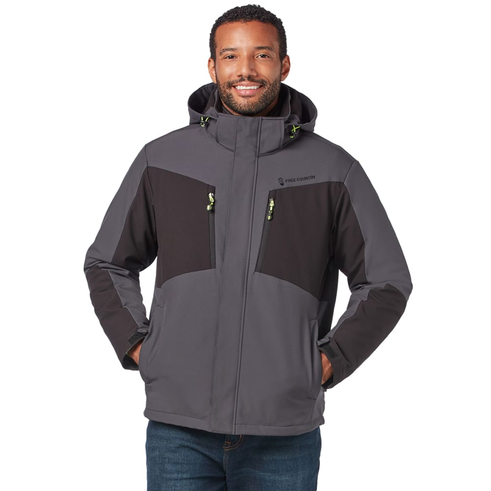 FREE COUNTRY Men's FreeCycle Montage 3-in-1 Systems Jacket M