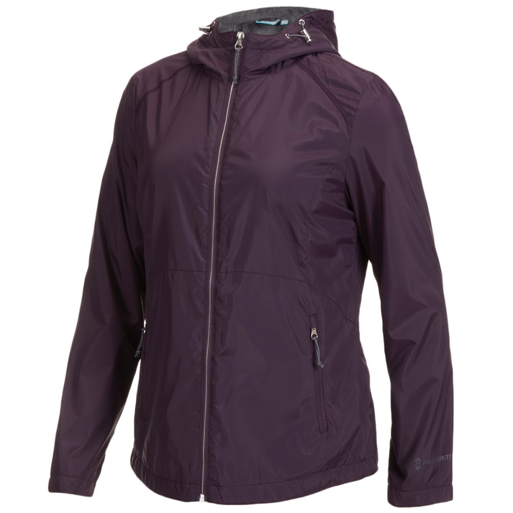 FREE COUNTRY Women's Windshear Hooded Jacket S