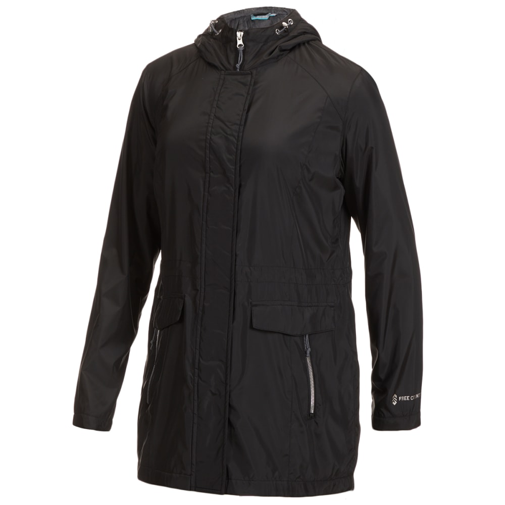 FREE COUNTRY Women's Windshear Hooded Anorak Jacket S