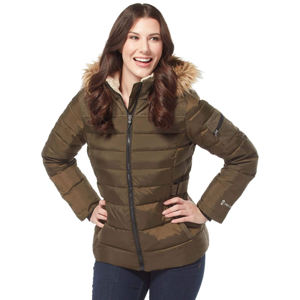 FREE COUNTRY Women's Traveler Cloud Lite Down Jacket S
