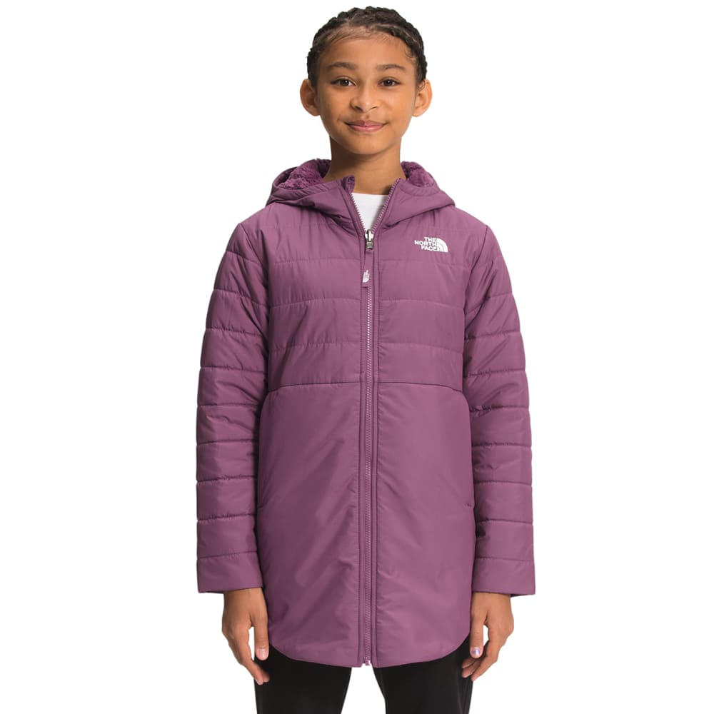 THE NORTH FACE Girls' Reversible Mossbud Swirl Insulated Parka XS