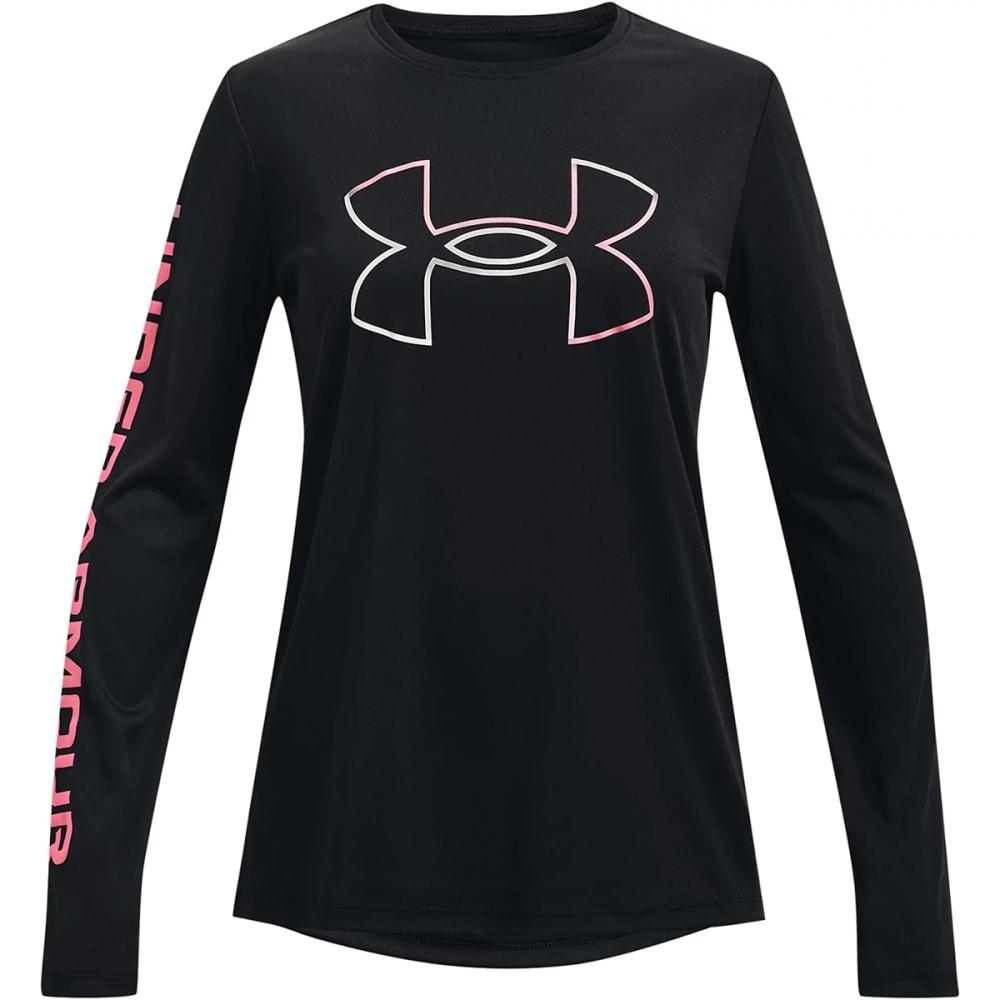 UNDER ARMOUR Girls' UA Tech Long Sleeve Tee XL