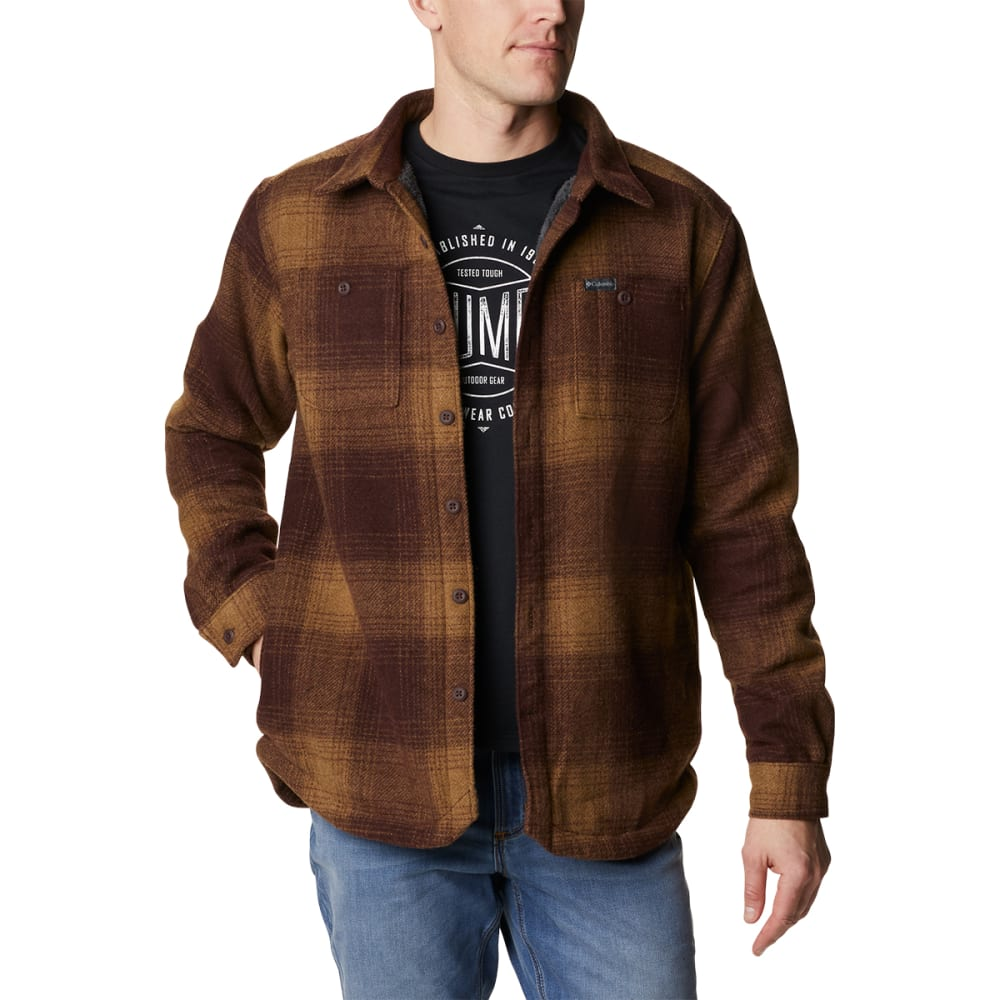 COLUMBIA Men's Windward Rugged Shirt Jacket M