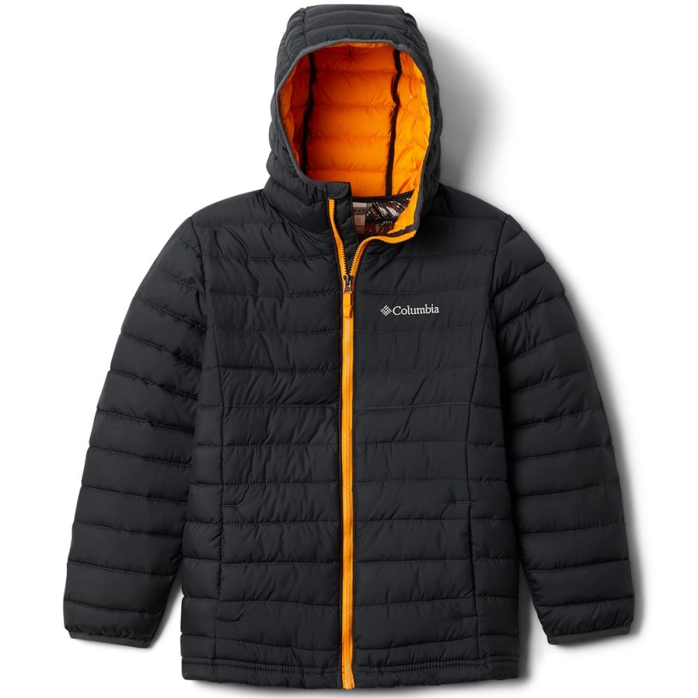 COLUMBIA Boys' Powder Lite Hooded Jacket S