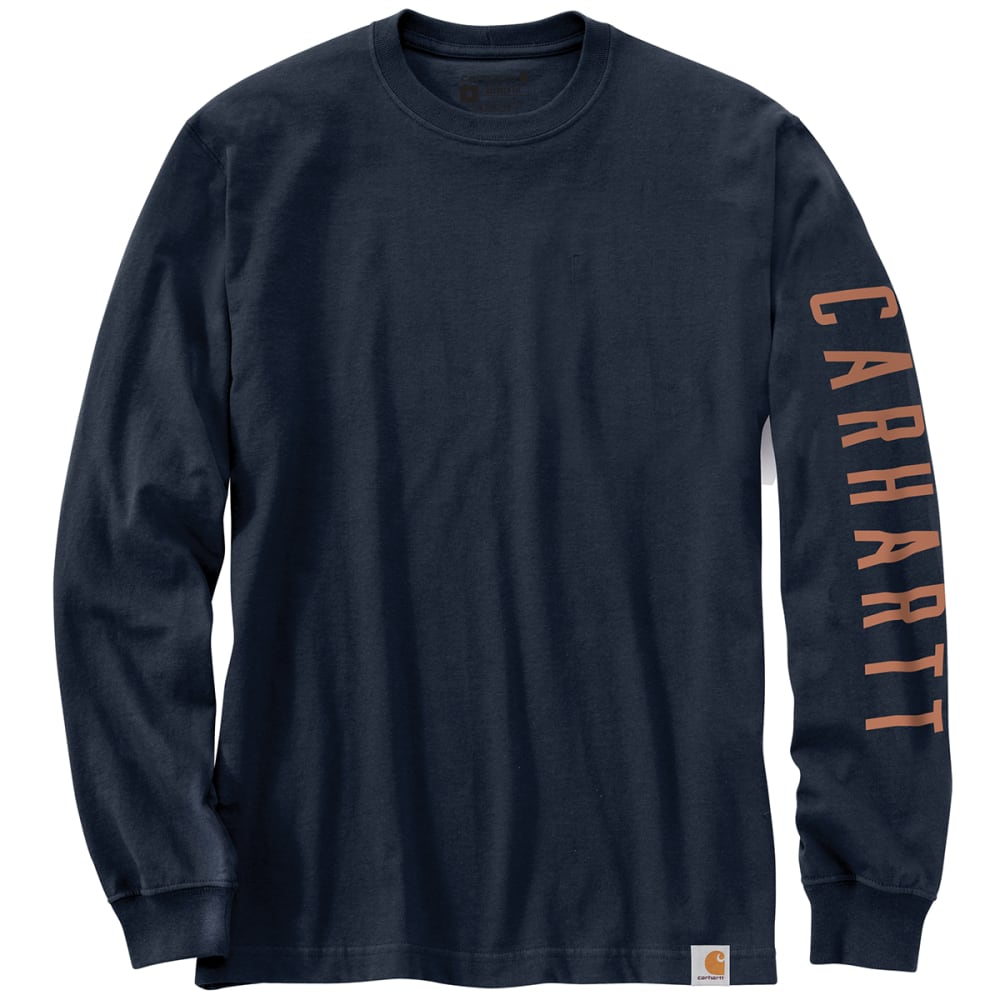 CARHARTT Men's Relaxed Fit Heavyweight Long Sleeve Graphic Tee S