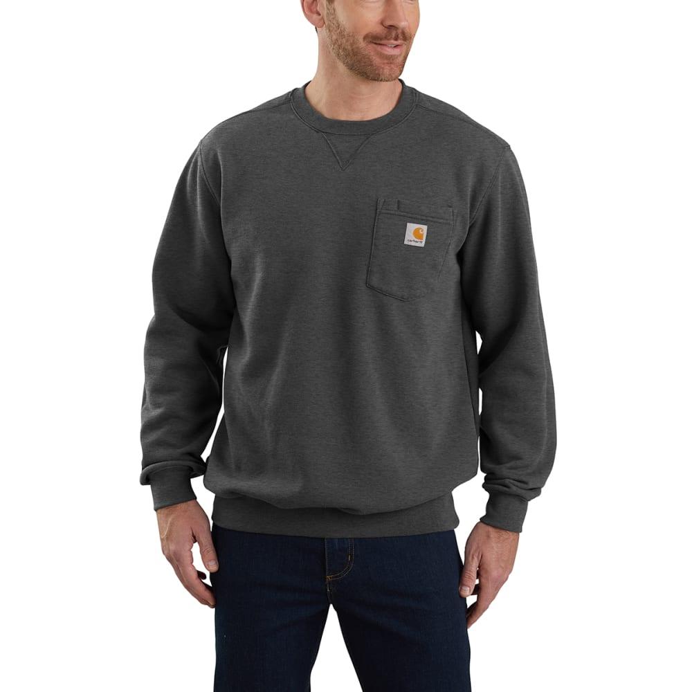 CARHARTT Men's Loose Fit Midweight Crewneck Pocket Sweatshirt M