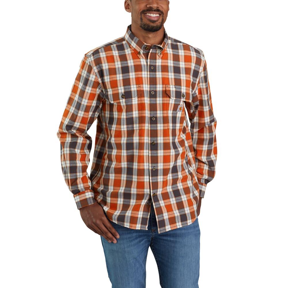 CARHARTT Men's Midweight Chambray Long-Sleeve Shirt M