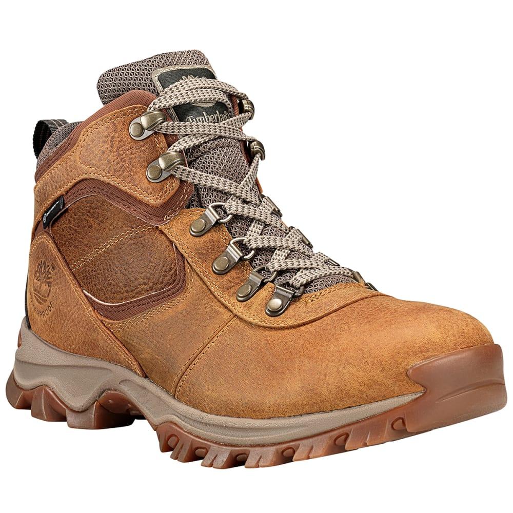 TIMBERLAND Men's Mt. Maddsen Mid Waterproof Hiking Boots 8.5