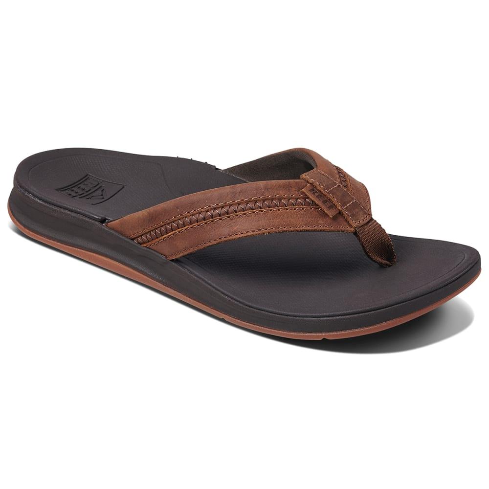 REEF Men's Leather Ortho-Coast Sandal 9
