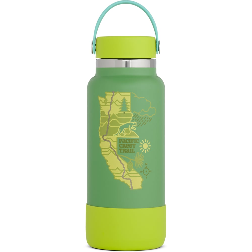 HYDRO FLASK Scenic Trails Limited Edition 32 oz Wide Mouth Bottle NO SIZE