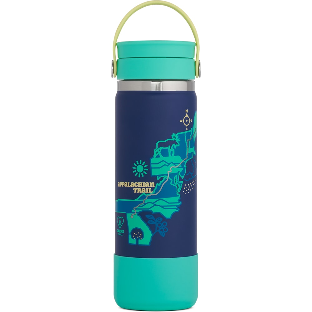 HYDRO FLASK Scenic Trails Limited Edition 20 oz Wide Mouth Bottle NO SIZE