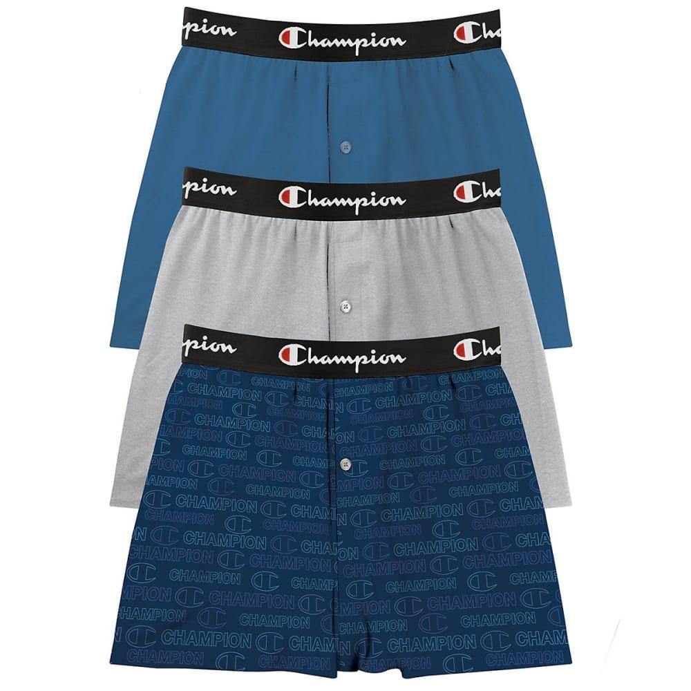 CHAMPION Men's Everyday Comfort Boxers, 3 Pack S