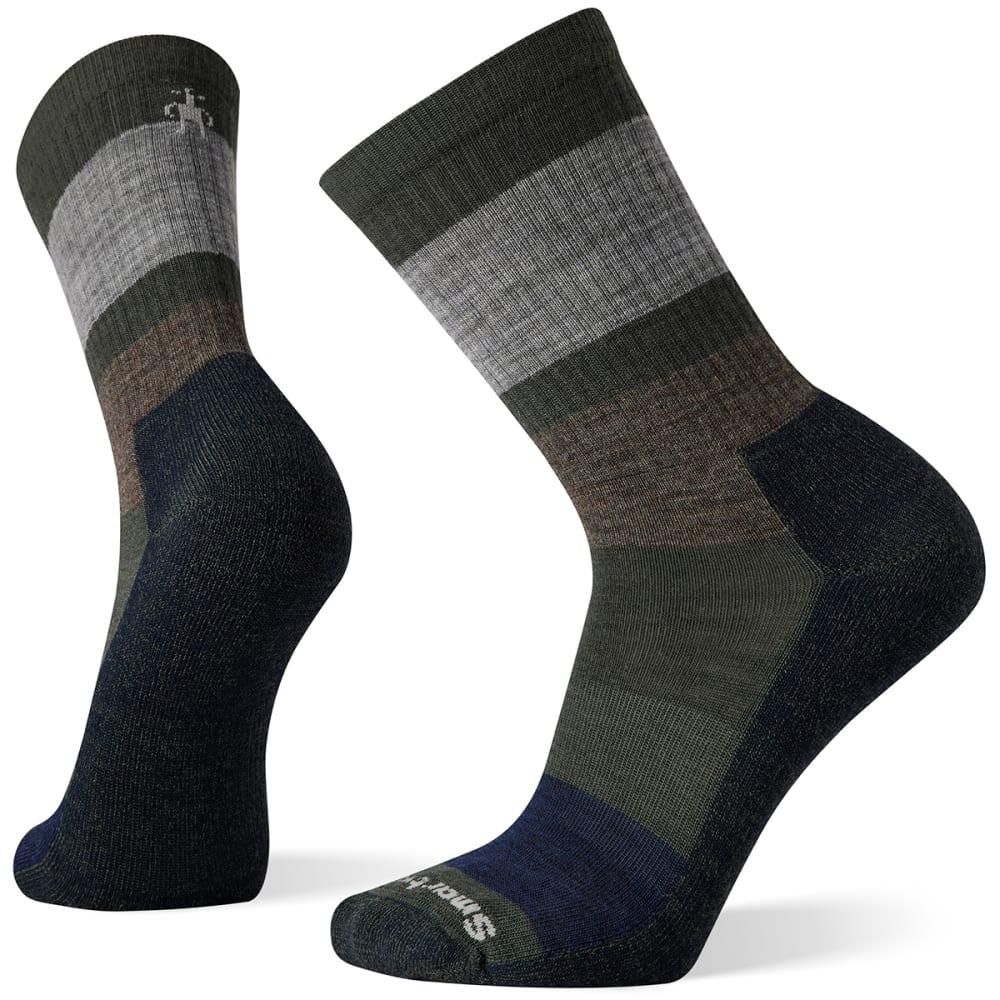SMARTWOOL Men's Everyday Blocked Stripe Crew Socks M