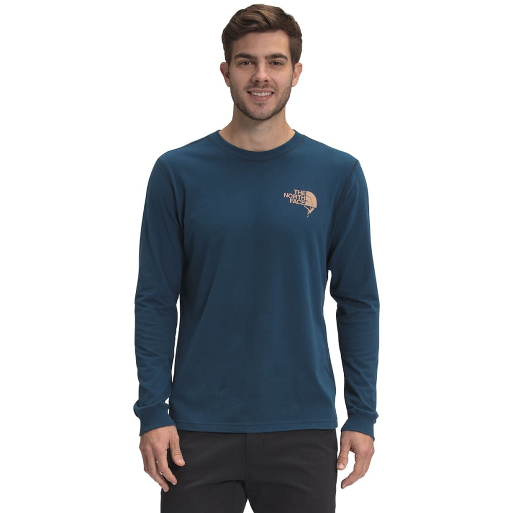 THE NORTH FACE Men's Dome Climb Long Sleeve Graphic Tee S