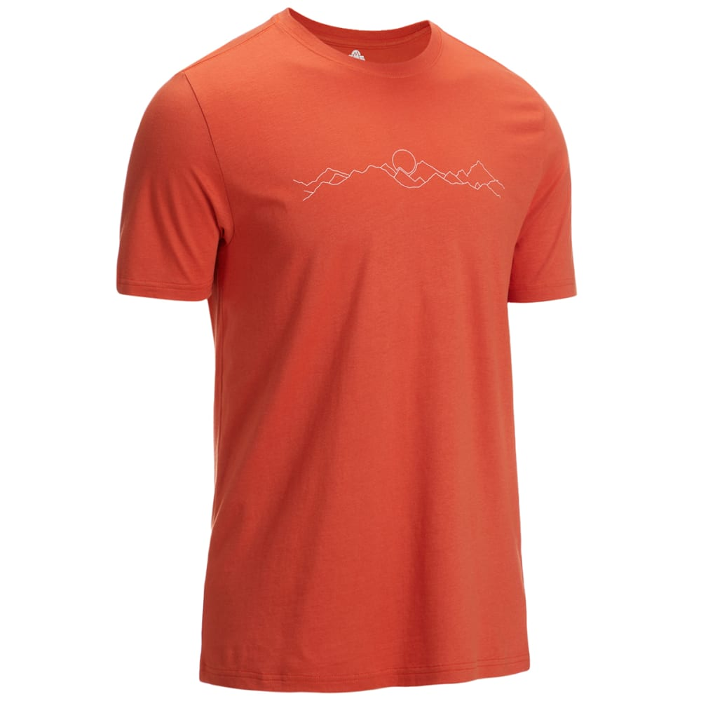 EMS Men's Mountains Short Sleeve Graphic Tee M