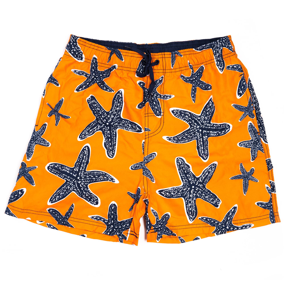 "BURNSIDE Men's Starfish 17"" Volley Swim Short S"
