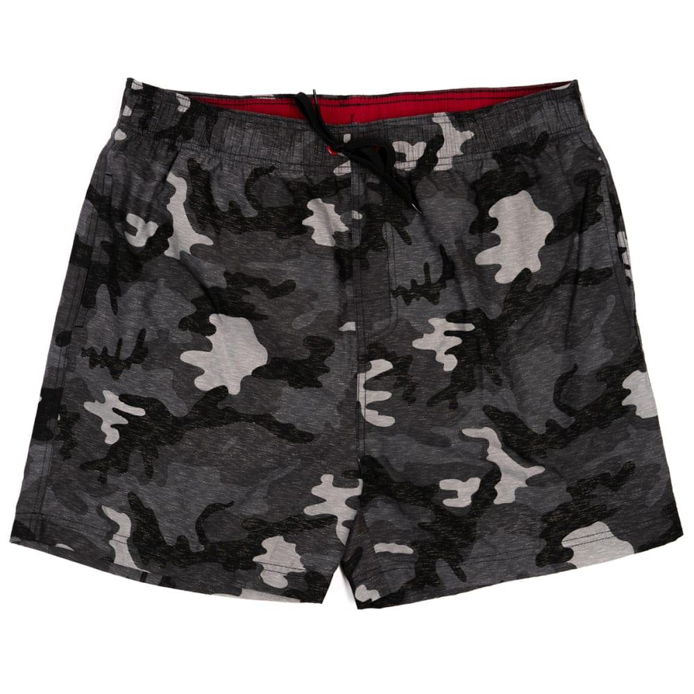 """BURNSIDE Men's Camo 17"""" Volley Swim Short S"""