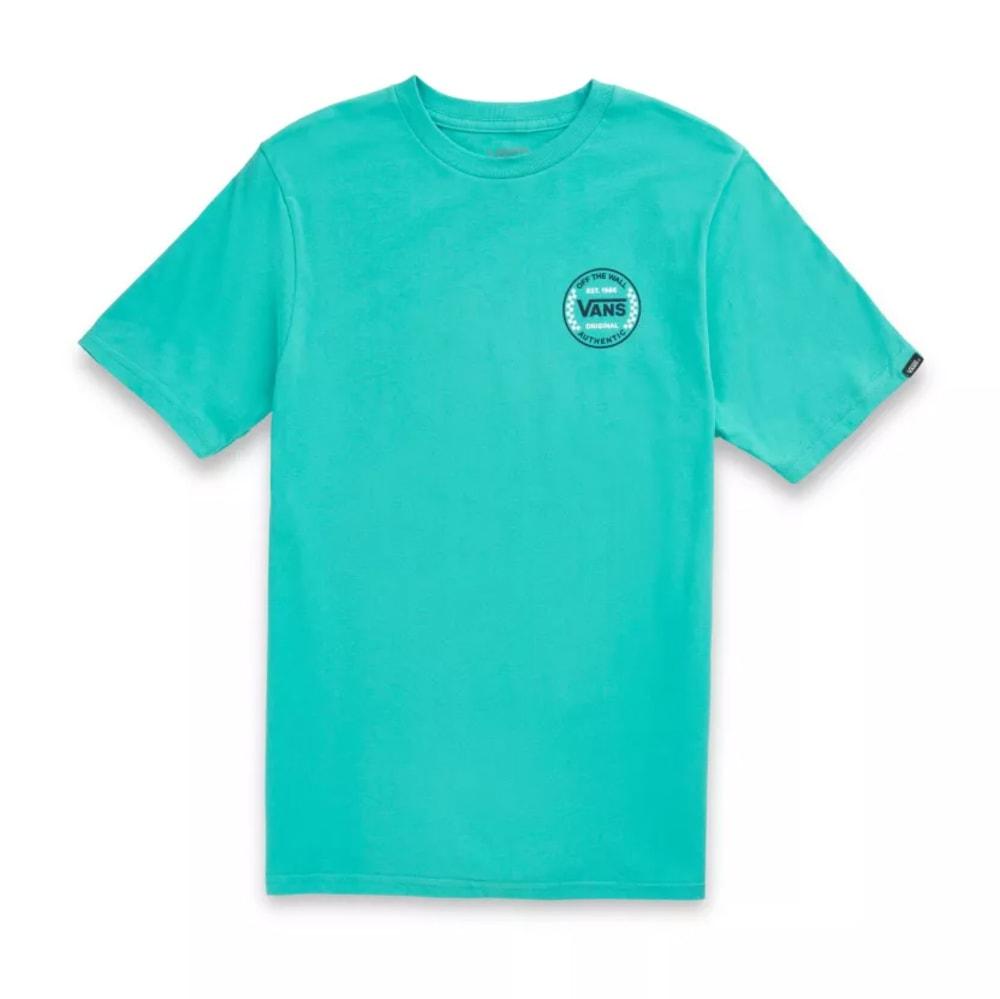 VANS Men's Authentic Checker Short Sleeve Tee S
