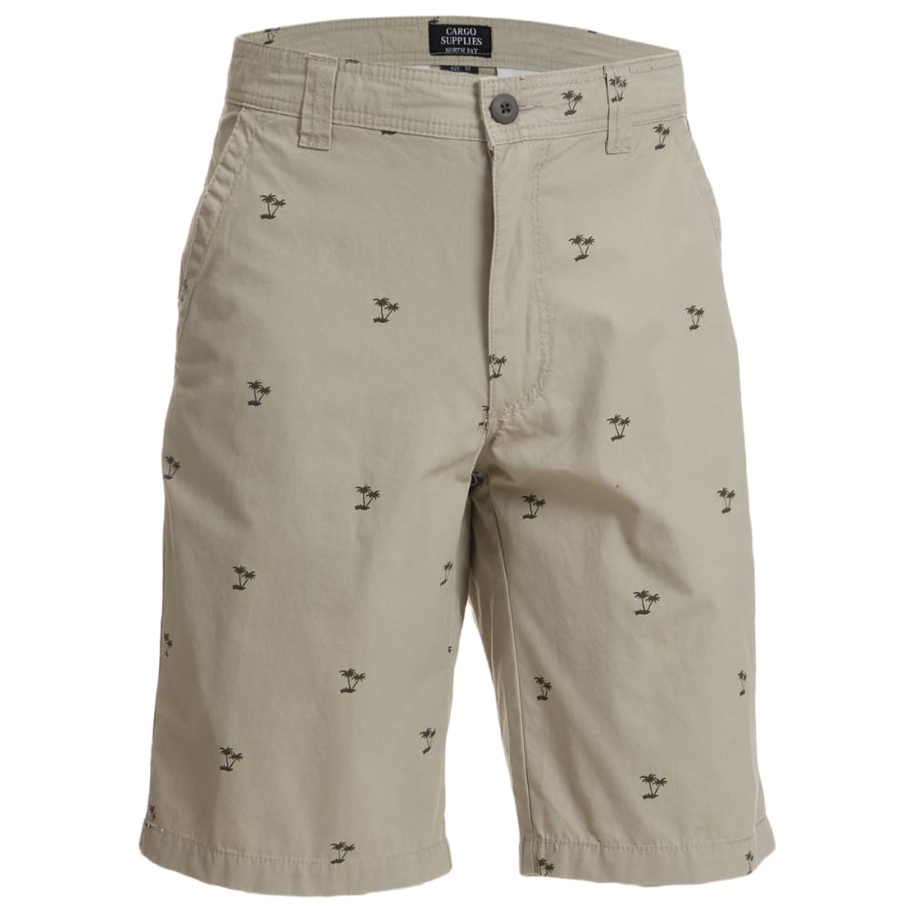 CARGO SUPPLIES Flat Front Shorts 38