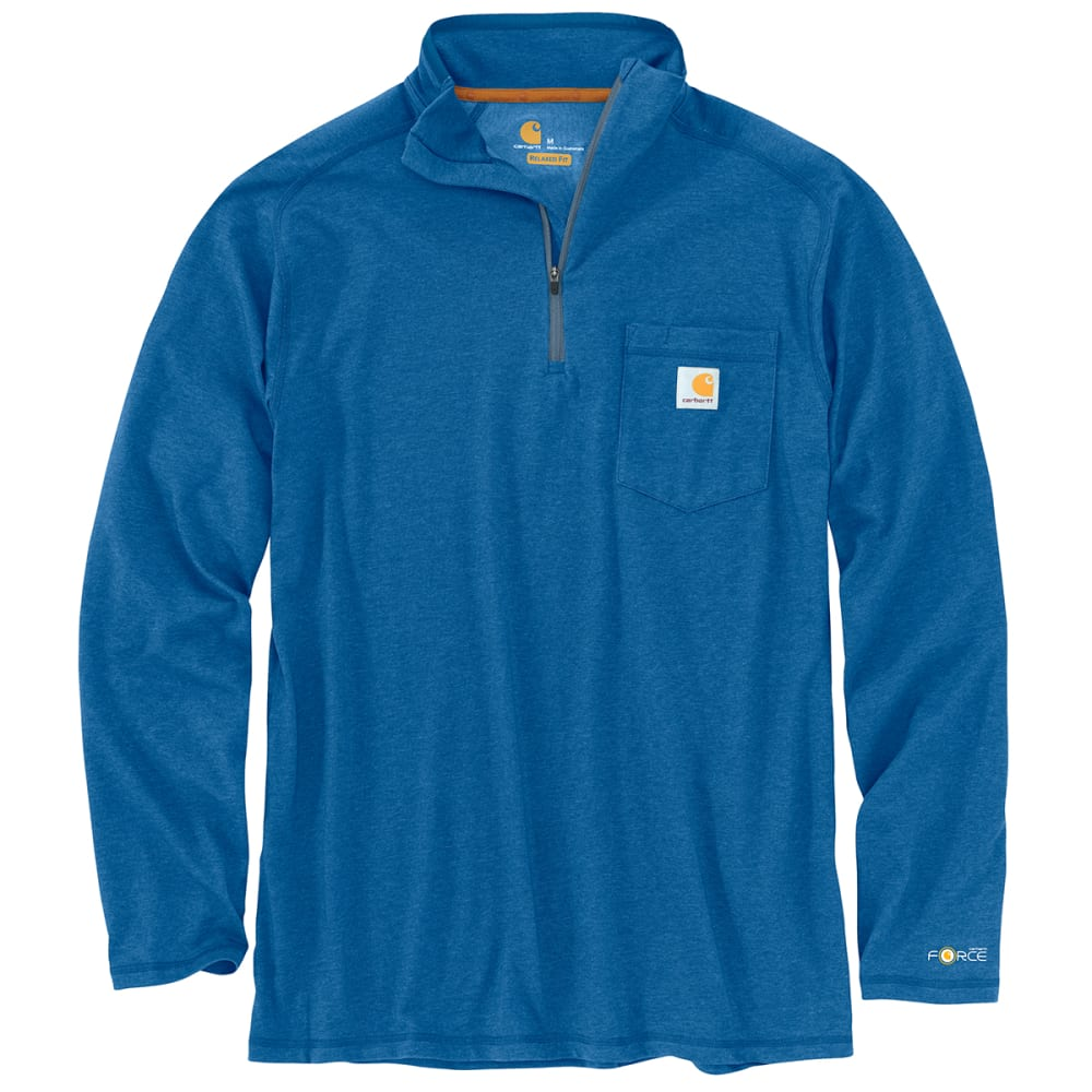 CARHARTT Force Relaxed Fit Long Sleeve 1/4-Zip Tee S