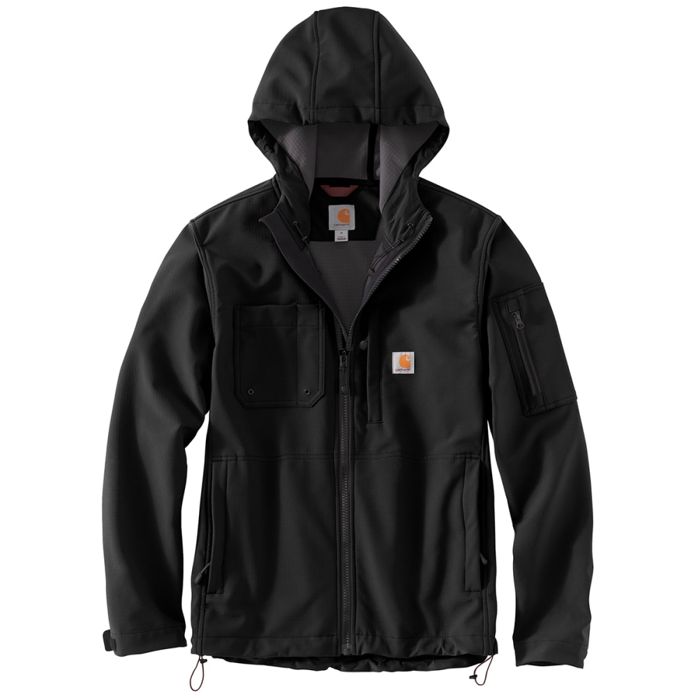 CARHARTT Rain Defender Relaxed Fit Midweight Softshell Hooded Jacket M