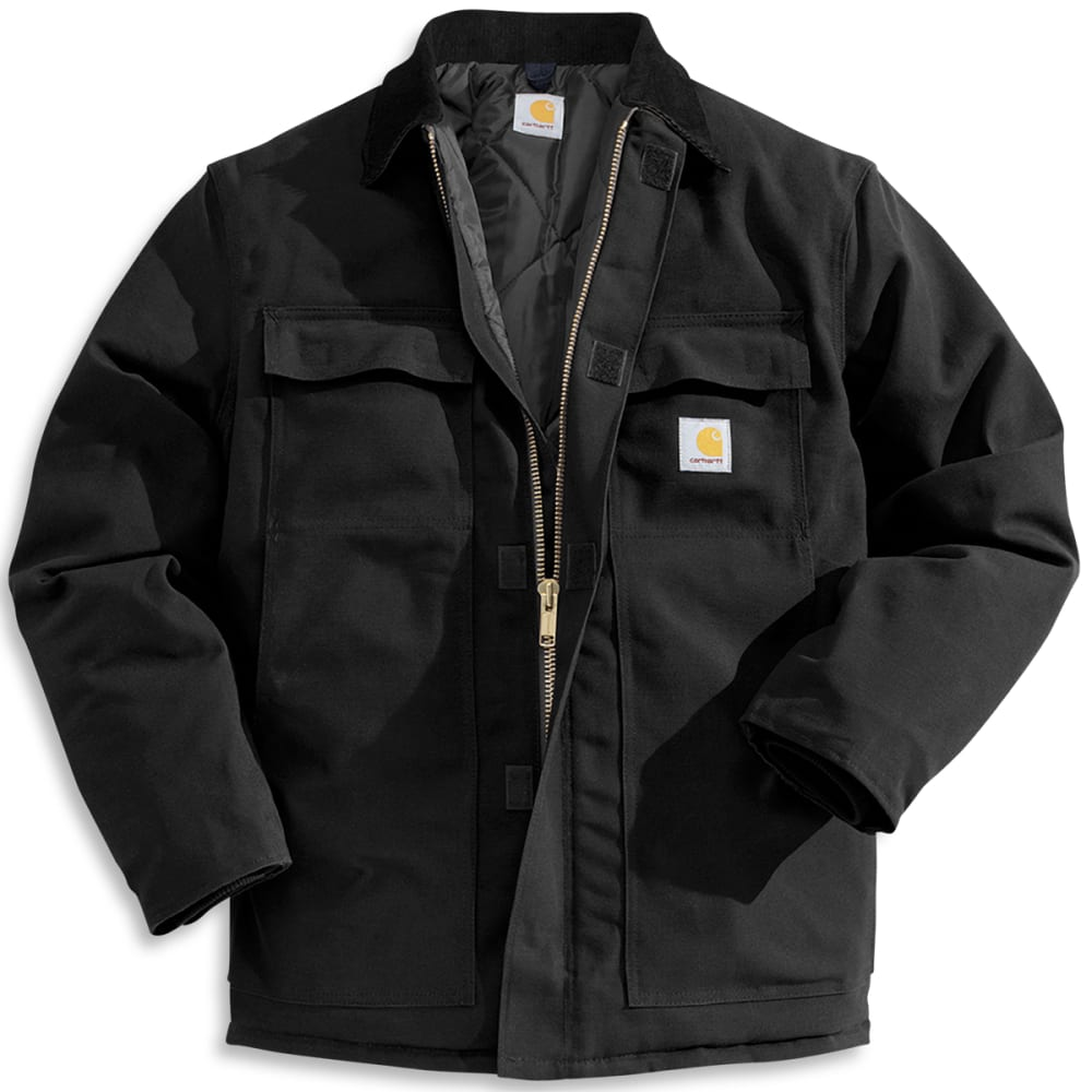 CARHARTT Men's Loose Fit Firm Duck Insulated Traditional Coat M