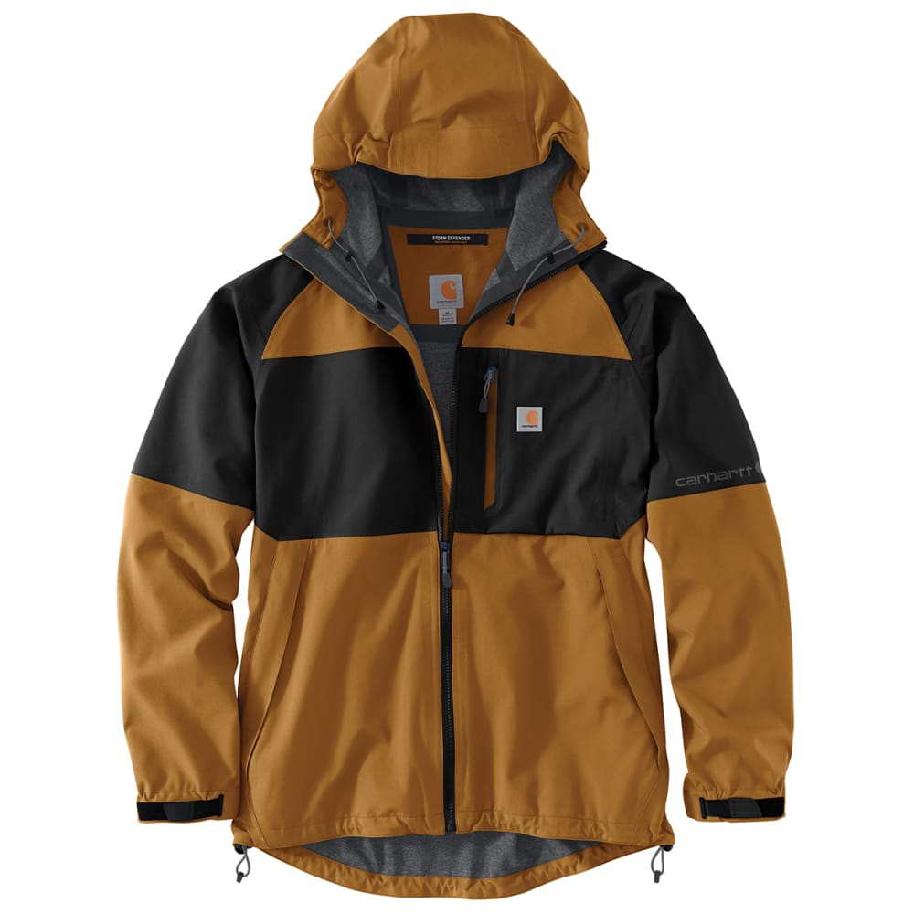 CARHARTT Men's Storm Defender Force Hooded Jacket, Extended Sizes 3XL