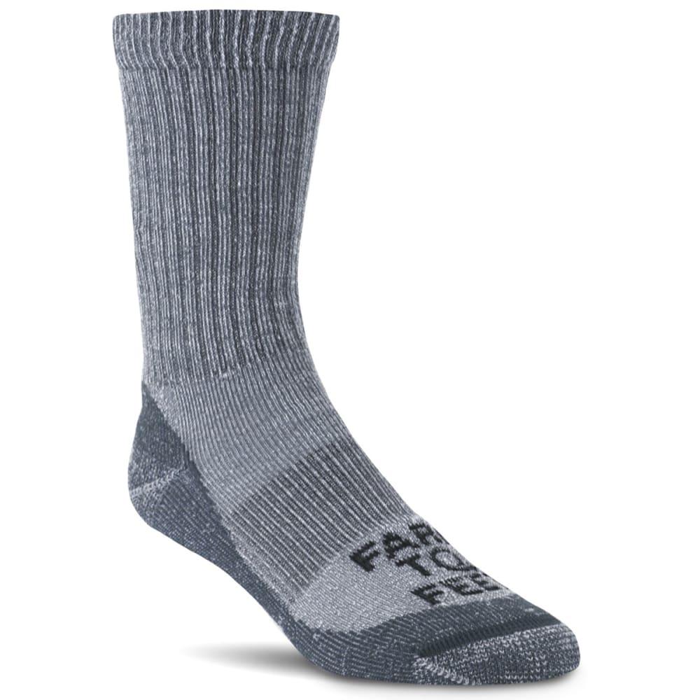 FARM TO FEET Men's Boulder Crew Sock M