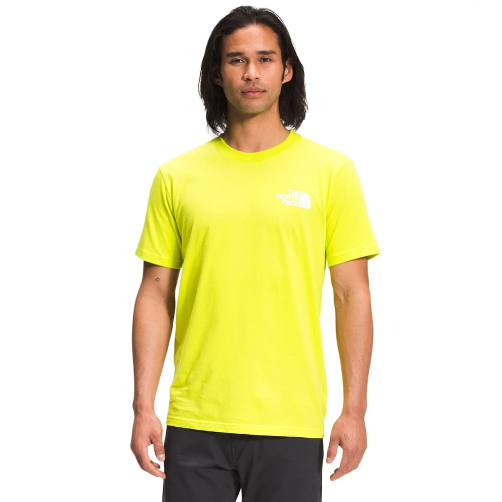 THE NORTH FACE Men's Short Sleeve Box Graphic Tee M