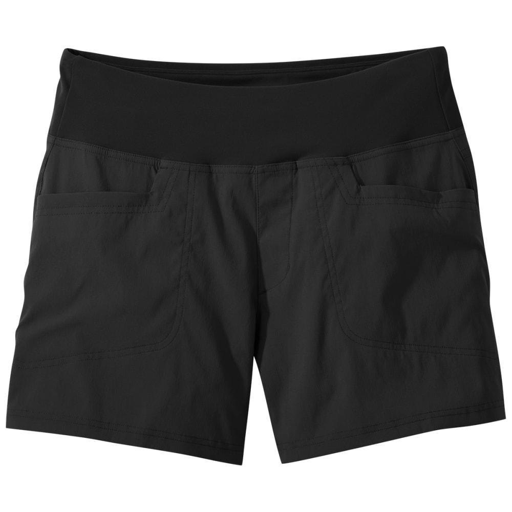 "OUTDOOR RESEARCH Women's Zendo Shorts - 5"" Inseam XS"
