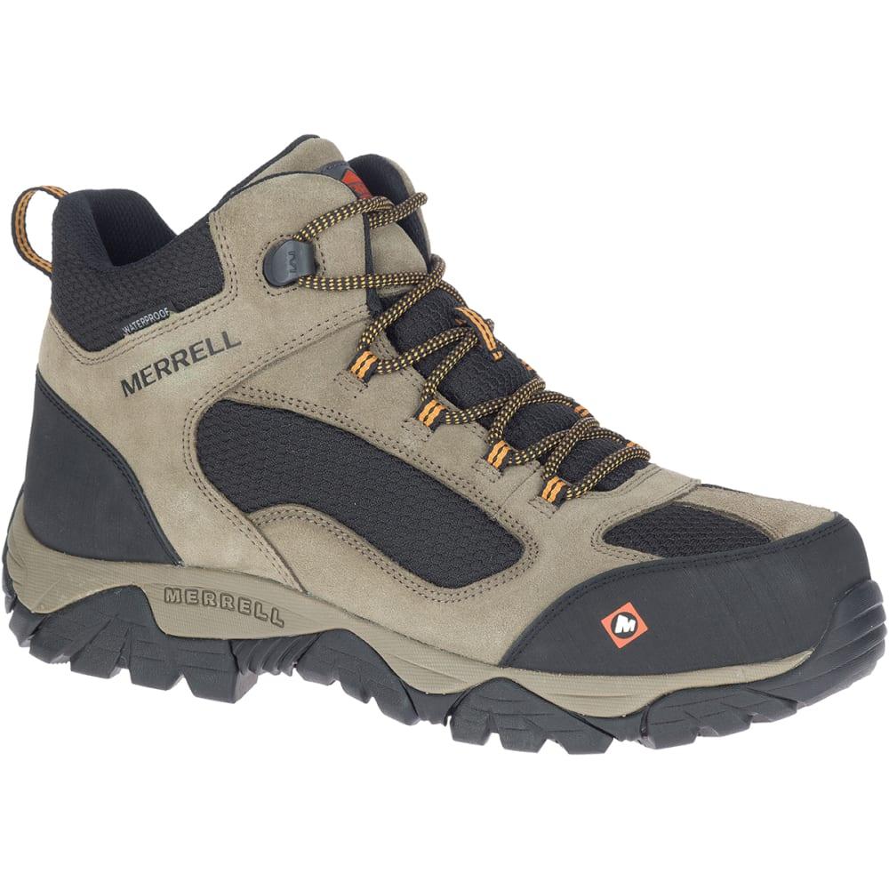 MERRELL Men's Moab Onset Mid Waterproof Comp Toe Work Boot 8