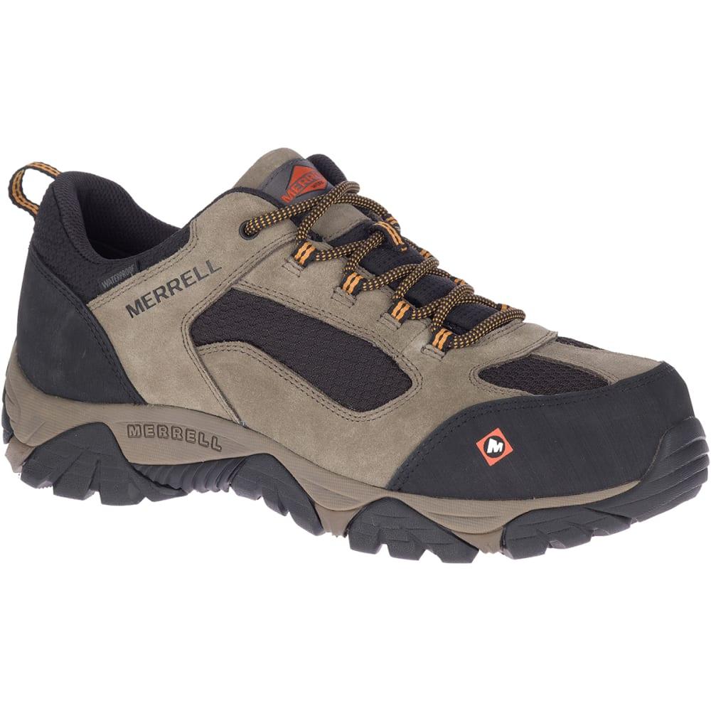 MERRELL Men's Moab Onset Waterproof Comp Toe Work Shoe 8