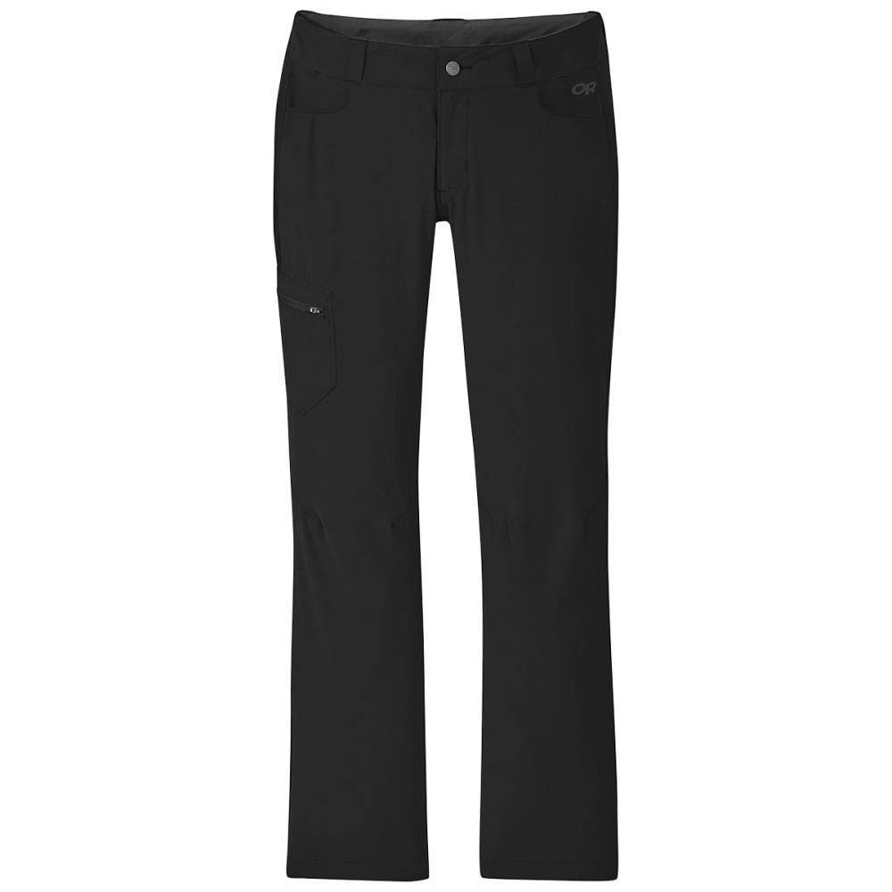 OUTDOOR RESEARCH Women's Convertible Pants - 0001 BLACK