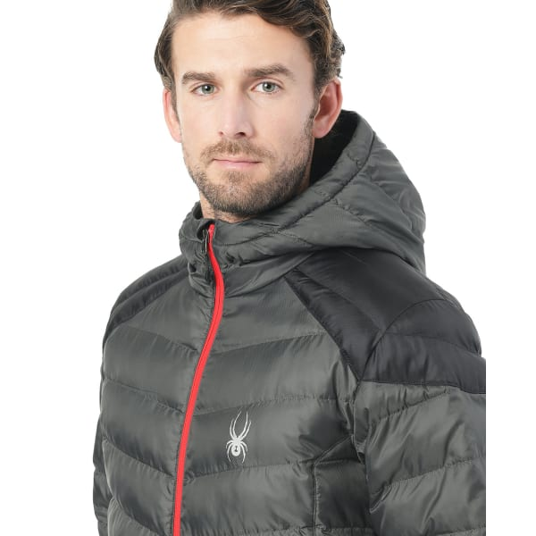 Spyder Mens Geared Synthetic Down Jacket