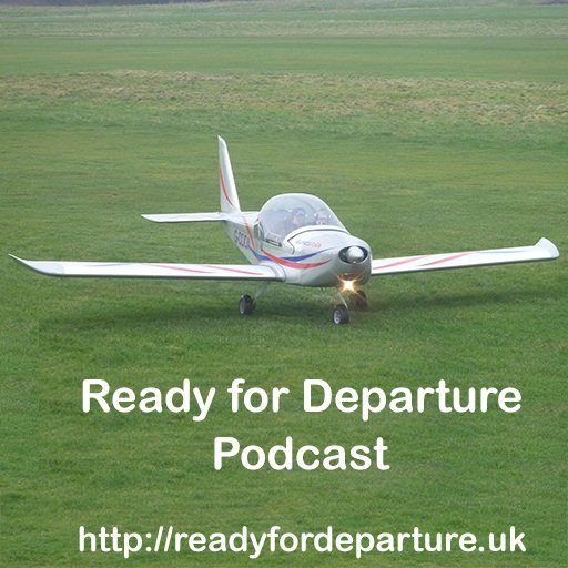 Ready for Departure Podcast logo for Stripe