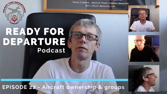 Episode 22 – Aircraft ownership and groups with special guest John Quigley