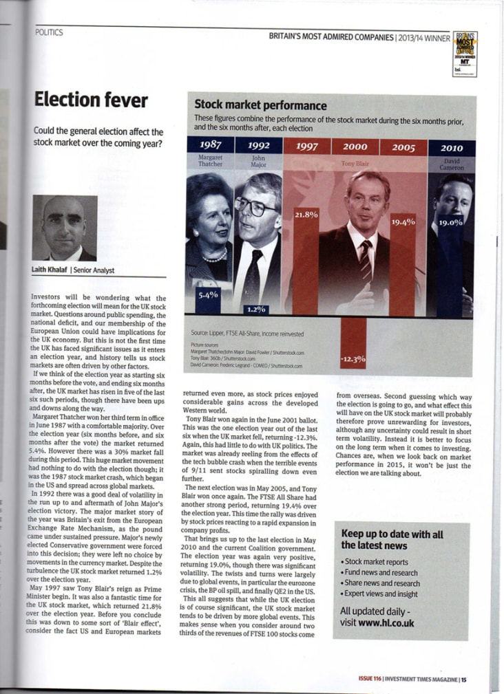 Election fever article