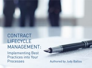 Contract Lifecycle Management Whitepaper from EASYSOFTWARE UK